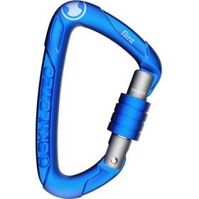 Skylotec Flint Screw Carabiner blue